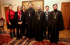 KYIV. Representatives of Kyivan Metropolia and Synodal Departments of UOC meet with delegation of Office for Democratic Institutions and Human Rights of OSCE