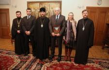 KYIV: Ukrainian Orthodox Church (UOC) Administrator meets with the Ambassador of the Republic of Serbia to Ukraine