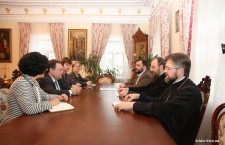 KYIV: The Administrator of Ukrainian Orthodox Church discusses issues concerning peace in Ukraine with representatives of Netherlands Ministry of Foreign Affairs