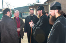 The delegation of the World Council of Churches visits the eastern region of Ukraine and participates in the distribution of humanitarian aid