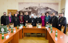 Chairman of Department for External Church Relations (DECR) of Ukrainian Orthodox Church meets with a delegation of the World Council of Churches