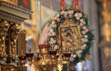 POCHAYIV. Law enforcement agencies and SSU identifies persons spread fake information about export of Wonderworking Pochayiv icon out of Pochayiv Lavra