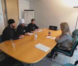 UOC Administrator has meeting at the Council of Europe