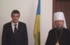 Metropolitan Anatoliy of Sarny and Polissya met with the Consul General of Ukraine in Milan