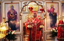 Metropolitan Anatoliy of Sarny and Polissya celebrated the Divine Liturgy at the parish of St.Ambrose in Milan