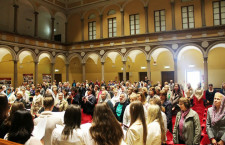"""The spiritual-cultural evening """"Ukraine – the land and the legacy of Prince Volodymyr"""" was held in Milan"""