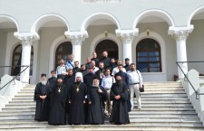 HOLY MOUNT ATHOS: UOC delegation takes part in the celebrations in honor of the patron saint of the Athonite St. Panteleimon Monastery