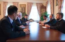 KYIV. UOC Administrator met with Representative from the U.S. Department of State