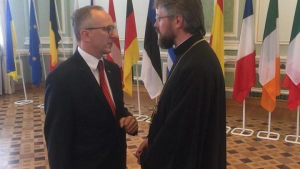 КИЇВ. Представник УПЦ взяв участь у святкуваннях з нагоди Дня Європи