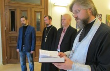 In Hamburg UOC Representatives  prayed for the repose of the victims of Holodomor