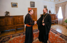 Ukrainian Orthodox Church Administrator meets with Apostolic Nuncio to Ukraine