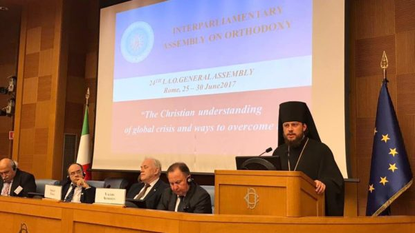 ROME. Head of UOC Representation to International European Organisations takes part in meeting of Interparliamentary Assembly on Orthodoxy