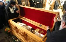Ukrainian hierarch takes part in uncovering relics of new Saint of Serbian Orthodox Church in the United States