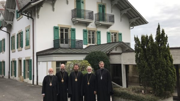 UOC Delegation visits Orthodox Centre of Ecumenical Patriarchate in Chambesy (Switzerland)