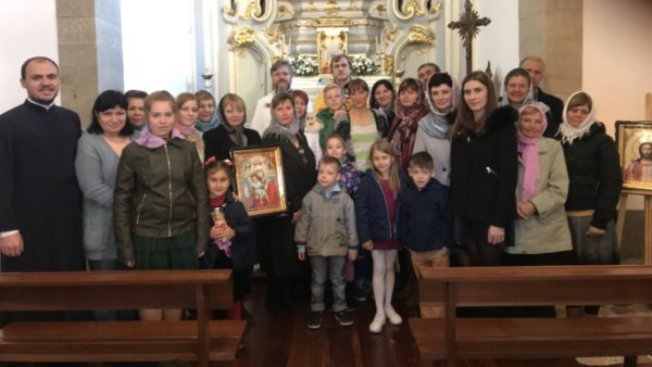 Newly established Ukrainian Orthodox parish in Braga, Portugal begins holding Church Services on a regular basis