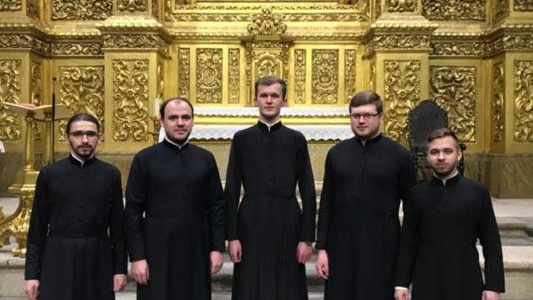 PORTUGAL. Choral ensemble from Kyiv present a Christmas carol concert at the Ukrainian Orthodox parish in Braga