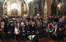 KYIV. Orthodox believers meet with Archimandrite Irenaios (Verikakis), disciple of Saint Paisios of Mount Athos