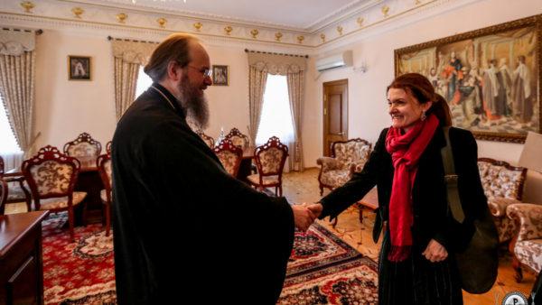 Керуючий справами УПЦ зустрівся з представниками Моніторингової місії ООН з прав людини в Україні