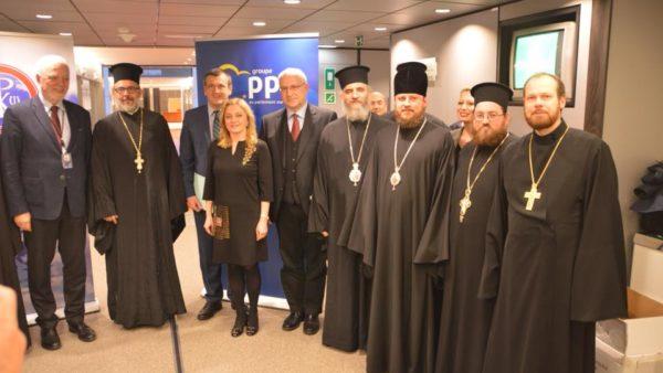 Голова Представництва УПЦ при європейських міжнародних організаціях виступив з промовою в Європарламенті у Брюсселі