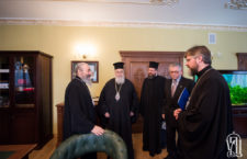 His Beatitude Metropolitan Onufriy meets with hierarch of Greek Orthodox Church