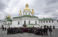 Pilgrimage group of Roman Catholic clergy visit Kyiv-Pechersk Lavra
