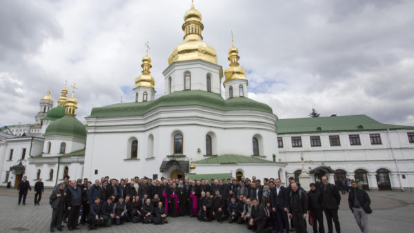 Паломницька група Римсько-католицького духовенства відвідала Києво-Печерську Лавру