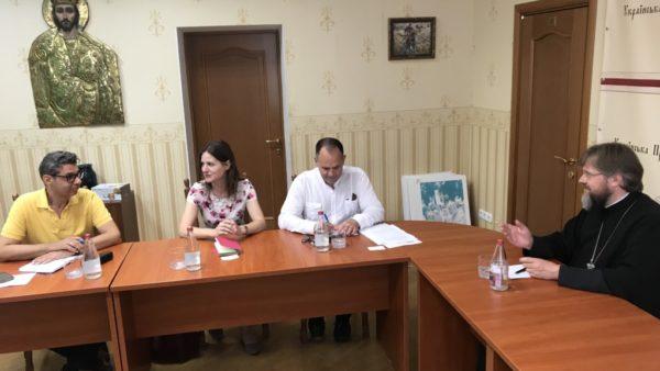 КИЇВ. Відбулася зустріч між представниками УПЦ та ОБСЄ