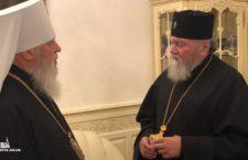 Засвідчити єдність з УПЦ до України прибув представник Православної Церкви Чеських земель і Словакії