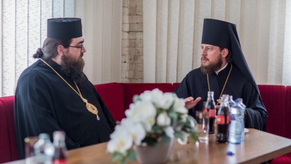 Голова Представництва УПЦ при європейських міжнародних організаціях зустрівся з Предстоятелем Православної Церкви Чешських земель і Словаччини