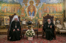 ГРУЗІЯ. Керуючий справами УПЦ зустрівся з Предстоятелем Грузинської Церкви Патріархом Ілією II