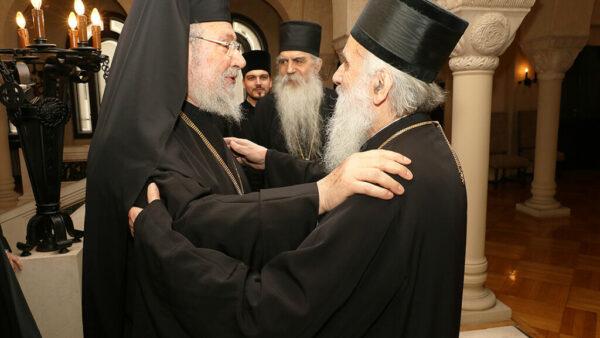 Предстоятель Кіпрської Церкви провів зустріч з Предстоятелем та членами Синоду Сербської Церкви