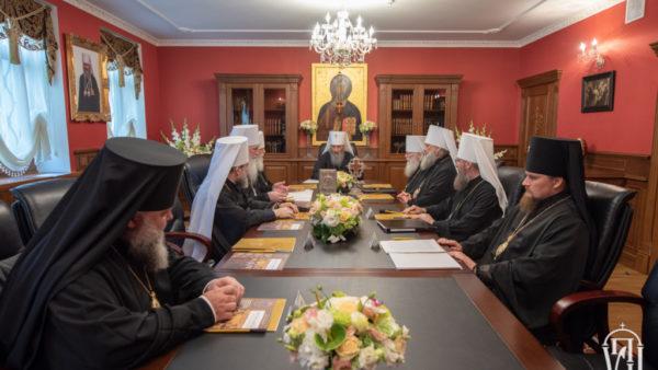 Підсумки Священного Синоду УПЦ від 28 липня 2019 року