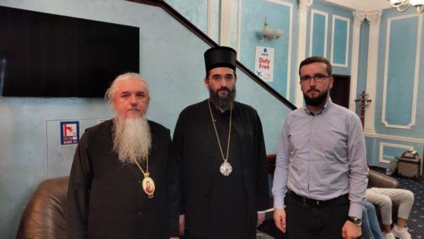 На святкування Хрещення Русі до Києва прибув представник Сербської Православної Церкви