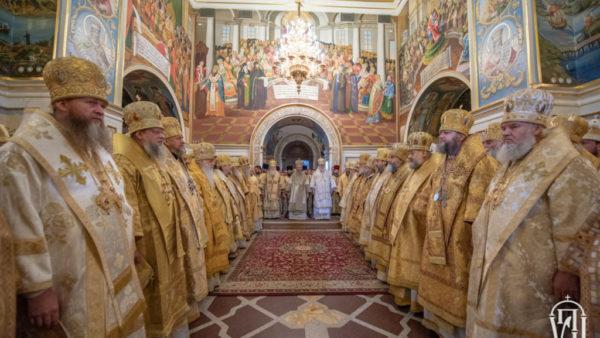 Українська Православна Церква молитовно відзначила п'ятиріччя інтронізації свого Предстоятеля