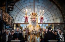 В Неделю Торжества Православия Блаженнейший Митрополит Онуфрий возглавил праздничное богослужение в Киево-Печерской Лавре