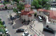 Одесский архиерей освятил храм, построенный грузинской диаспорой